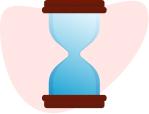 Icon hourglass